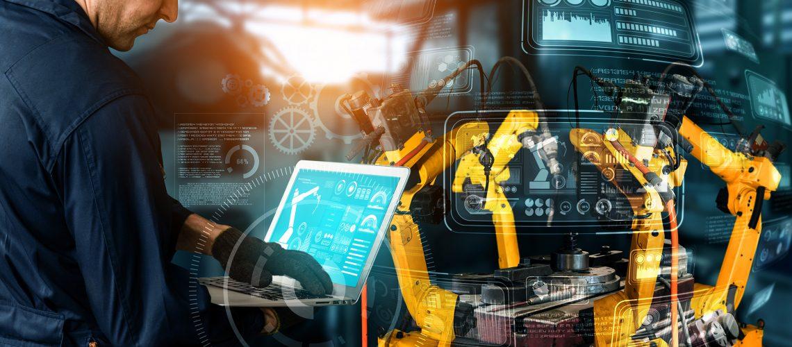 A era das IndTechs: a indústria 4.0 e a ascensão das fábricas inteligentes.